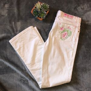 Lily Pulitzer White Denim Jeans